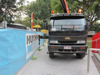 transport steel beam