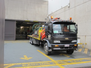 Freight of vintage machinery for a museum in Brisbane